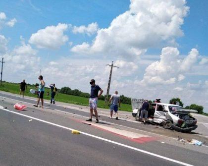 UPDATE/ ACCIDENT la ieșirea din Arad! Ce s-a întâmplat