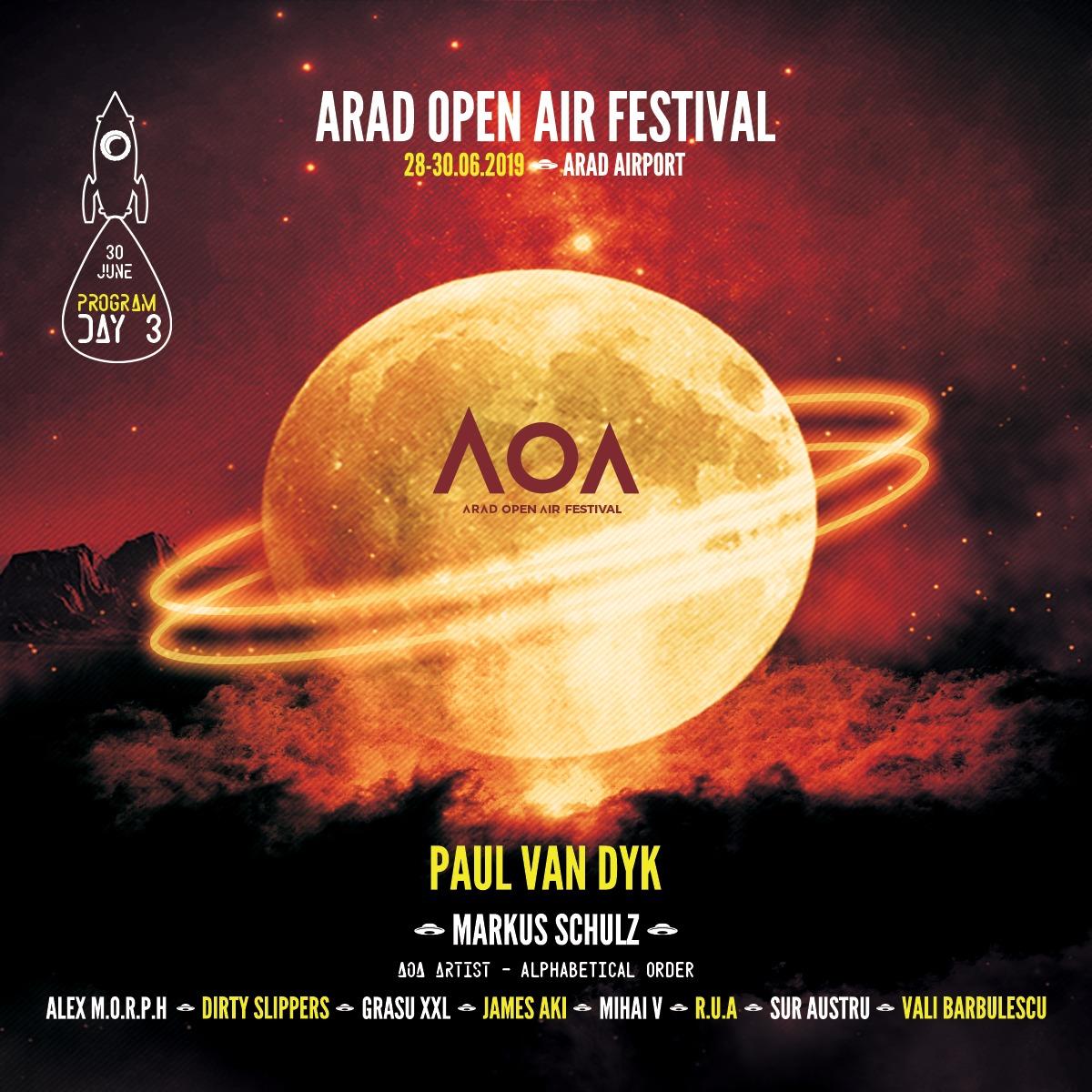Cine va urca pe scenă la Arad Open Air Festival! Vezi programul complet