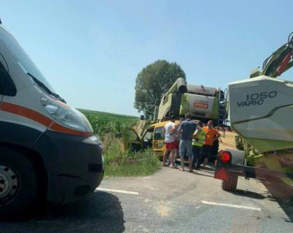 ACCIDENT pe drumul Arad – Oradea! Ce s-a întâmplat