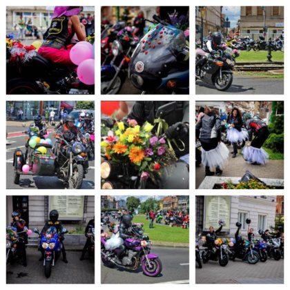 """Bikerițele arădene se echipează cu rochițe și îmbină utilul cu plăcutul la evenimentul """"Flori, fete și motociclete""""!"""