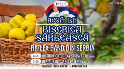 Ruga sârbească din Arad se sărbătorește cu muzică și tradiții