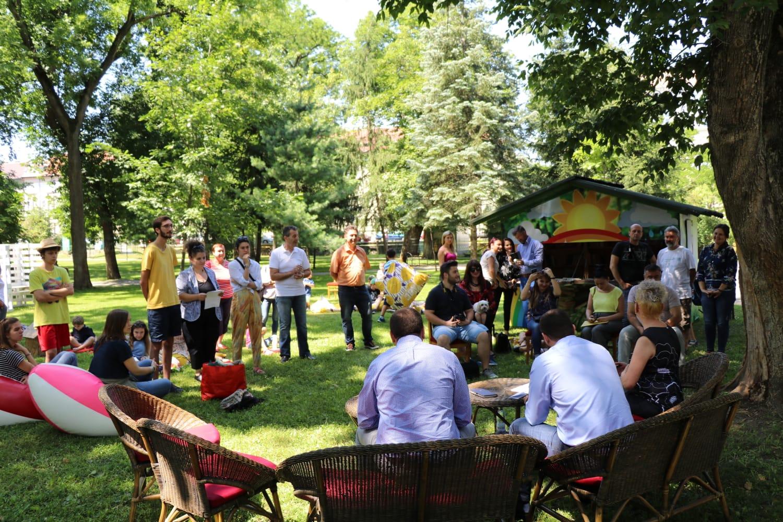 Biblioteci estivale și activități pentru copii în parcurile arădene