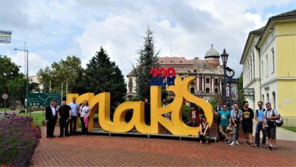 Ghizii de turism din Arad și Timișoara, în infotrip la Mako