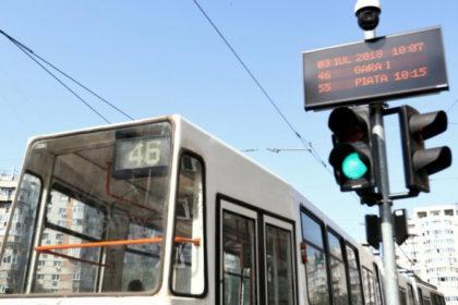 Marin Lupaş: Voi insista ca până la finele lui 2020 afișajul tramvaielor în stații să fie realitate