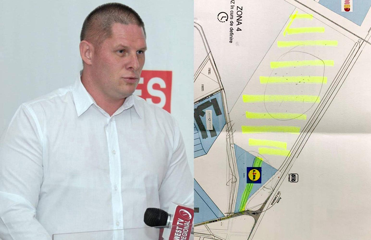 Vladimirescu riscă să rămână fără magazin LIDL şi sens giratoriu