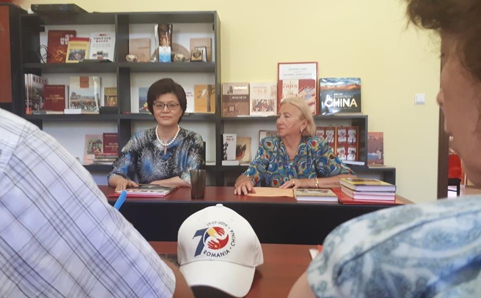 Aradul, pe harta colaborării româno – chineze. Excelența Sa Yu Jiang a vizitat municipiul nostru