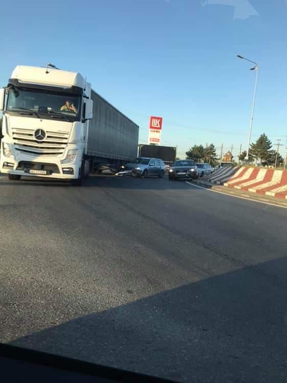 ACCIDENT la ieşirea din Arad spre Oradea