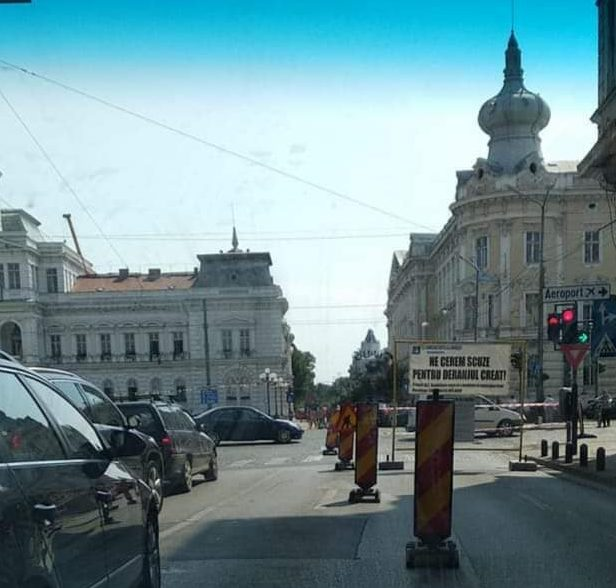 """""""Bucuria"""" șoferilor continuă până în NOIEMBRIE! Noi RESTRICȚII de circulație în centrul Aradului"""