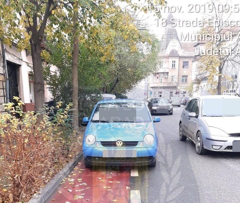 Un arădean s-a ales cu PERMISUL SUSPEDAT și cu DOSAR PENAL după ce a parcat neregulamentar. Ce au mai descoperit polițiștii