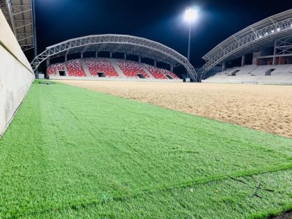 La Kilometrul 0 toate sunt bune şi frumoase… Primăria REACȚIONEAZĂ la acuzele privind calitatea PROASTĂ a lucrărilor de la Stadionul UTA