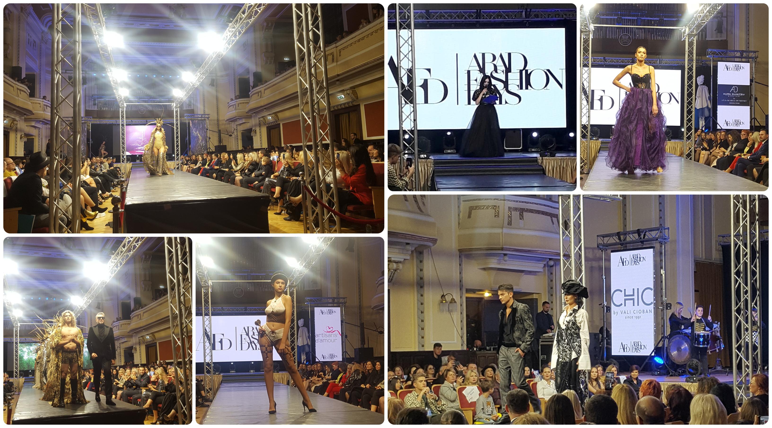 Arad Fashion Days a început în forță! Creații superbe, spectacol și invitați de top la Filarmonica de Stat (GALERIE FOTO)