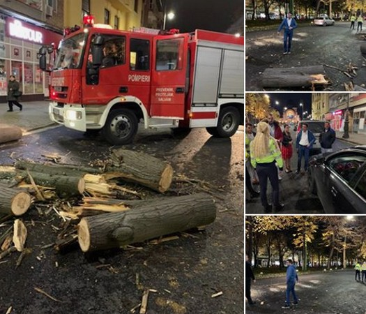 Pericol de MOARTE în centrul Aradului. Situația s-a repetat…