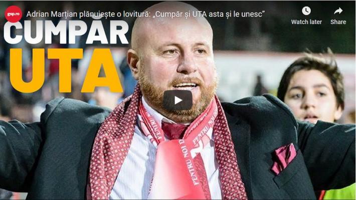"""""""DELIR"""" la gsp.ro: Marțian vrea să cumpere UTA! (VIDEO)"""