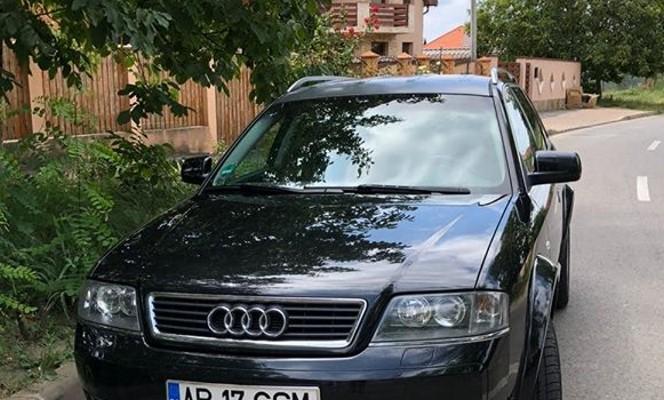NEWS ALERT: Audi FURAT din Arad, de lângă o secție de poliție