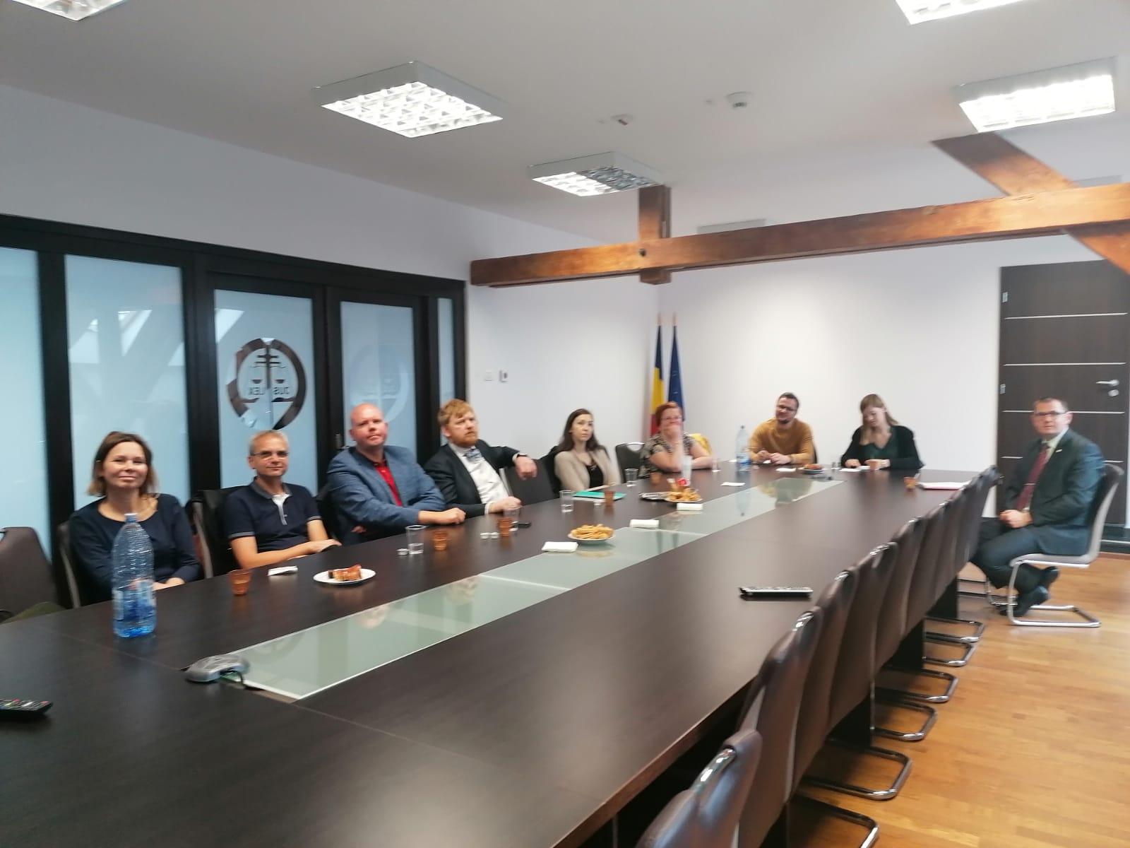 Judecători din străinătate la Tribunalul Arad