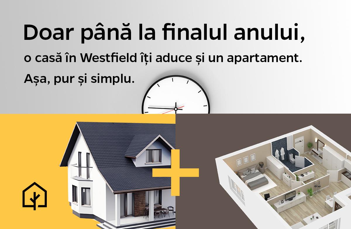 Doar până la finalul anului, o casă în Westfield îți aduce și un apartament!