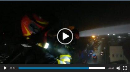 O biserică penticostală din Arad a căzut pradă flăcărilor la miezul nopții (VIDEO)