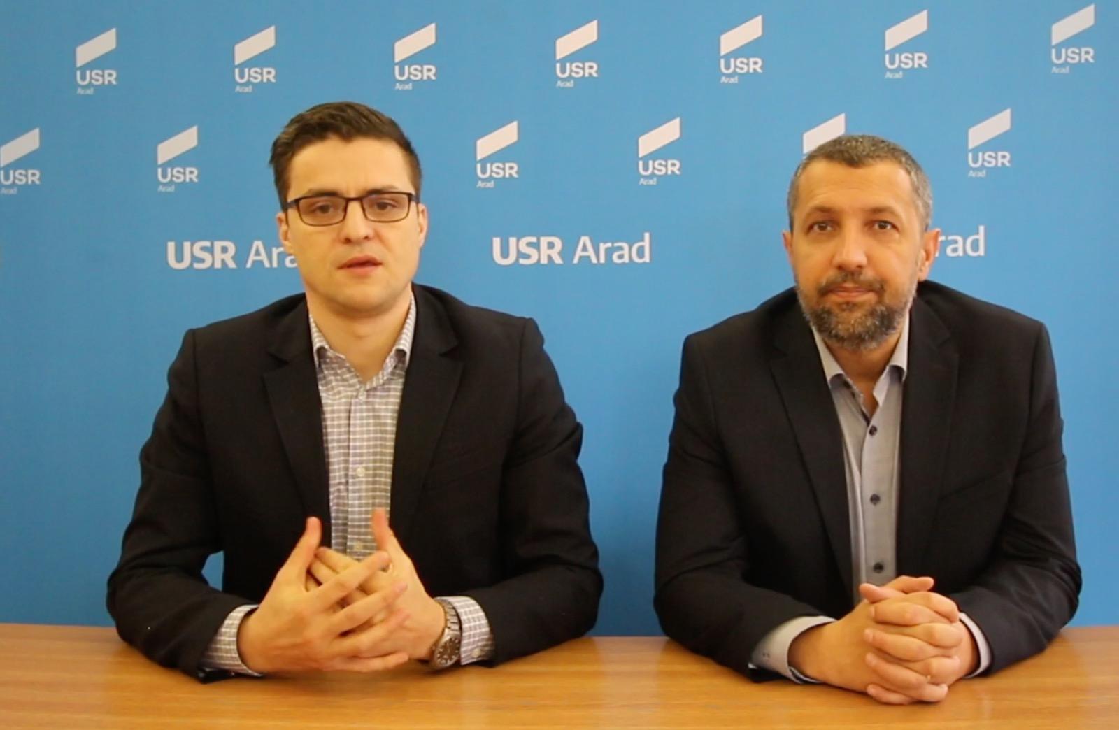 Sergiu Cosmin Vlad candidează din partea USR pentru Primăria Arad