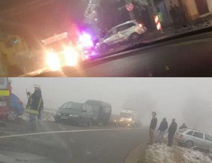 Weekend cu ACCIDENTE pe șoselele arădene (FOTO)