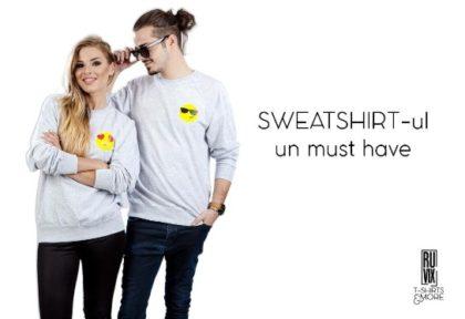 Sweatshirt-ul – un must-have pentru garderoba ta