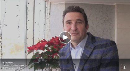 VIDEO VIRAL: Să râdem cu (și de) primarul Călin Bibarț… în rolul principal