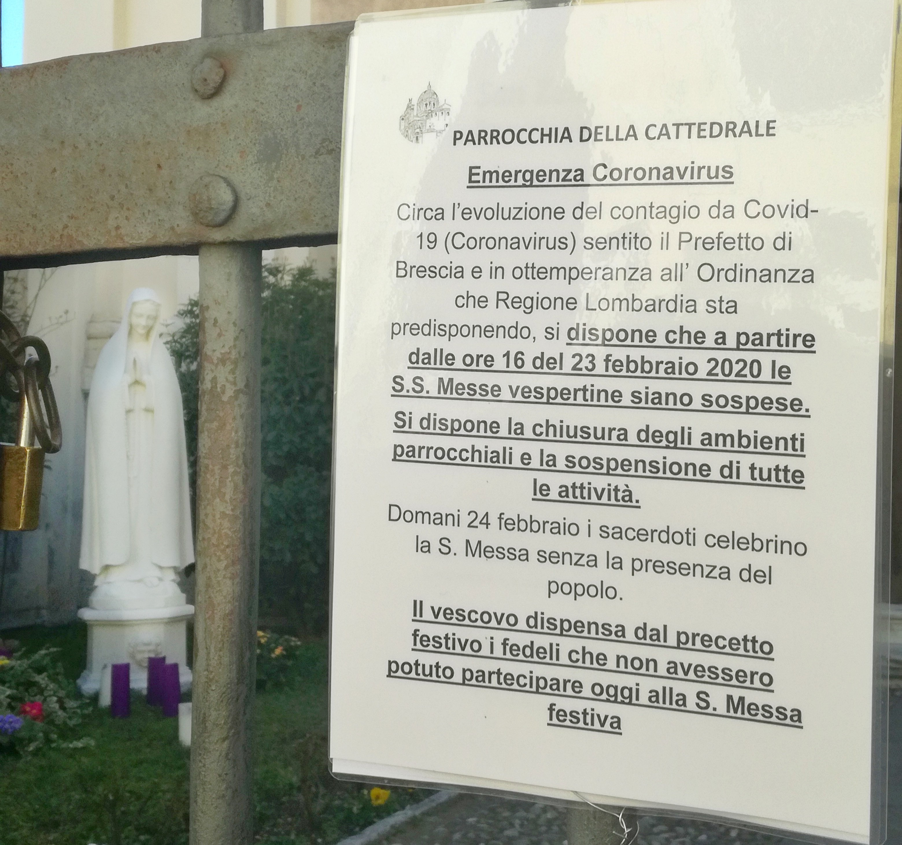 CORONAVIRUS. Corespondență din Italia: Viața în perioada gripei (FOTO)