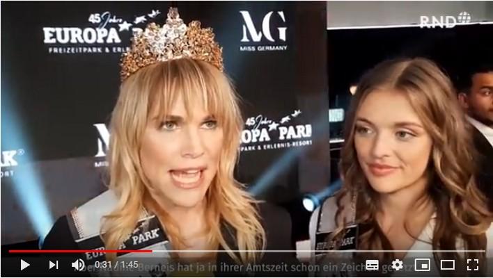 "VIDEO/ Leonie Charlotte von Hase este Miss Germany 2020, la 35 de ani: ""Pentru mine, frumusețea vine din interior"""
