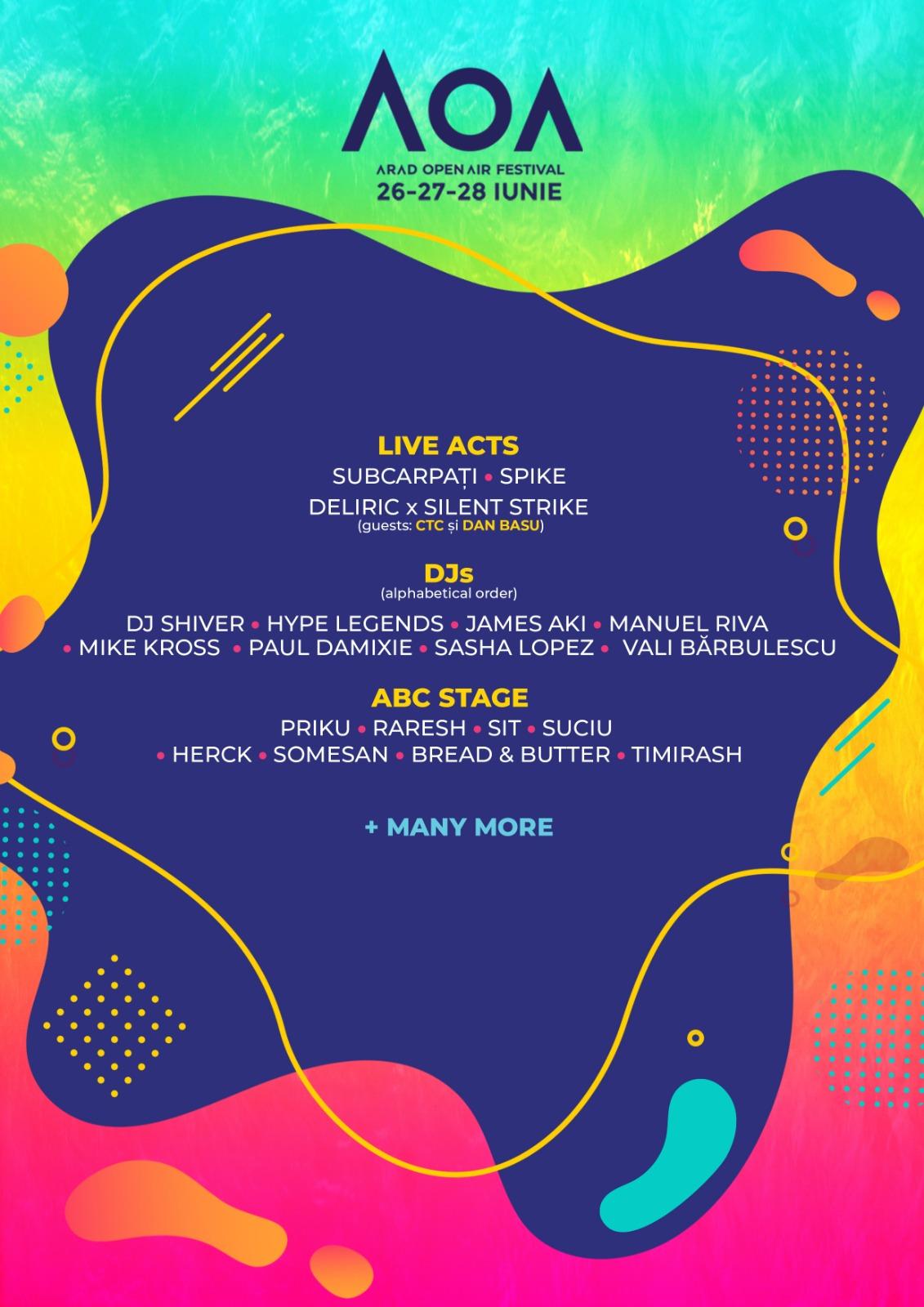 Arad Open Air Festival a ajuns la a V-a ediție. Ce NUME propun organizatorii