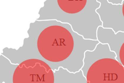 CORONAVIRUS. Cazurile de ÎMBOLNĂVIRI par să EXPLODEZE la Arad în doar 24 de ore