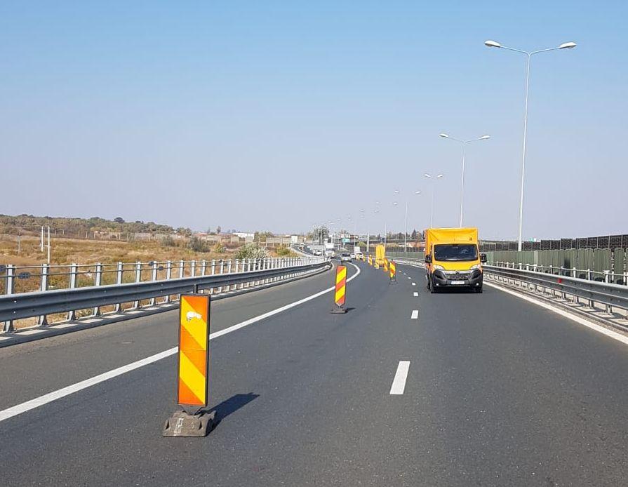 ATENȚIE șoferi! Circulație ÎNGREUNATĂ pe autostrada A1