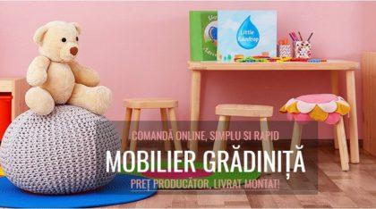 Trei motive pentru care mobilierul de grădiniţă este foarte important pentru dezvoltarea celor mici