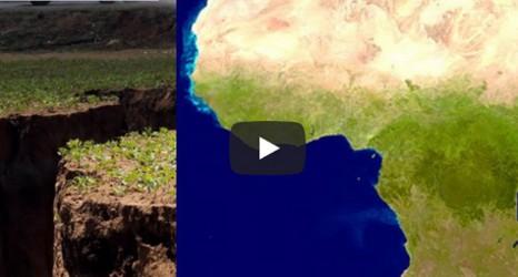 Se RUPE un al doilea cel mai populat continent din lume! Se formează un nou ocean (VIDEO)
