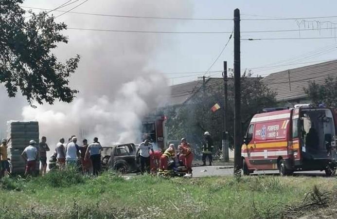 GROAZNIC! Cum a avut loc ACCIDENTUL în care a murit un motociclist din Timiș