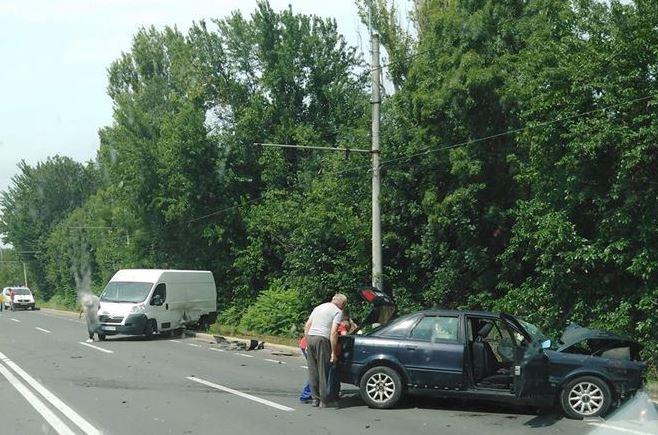 ACCIDENT GRAV la ieșirea din Arad. Victimele, transportate la spital (FOTO)