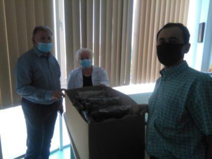 La Arad sunt TESTATE combinezoane noi pentru medicii care luptă împotriva COVID-19