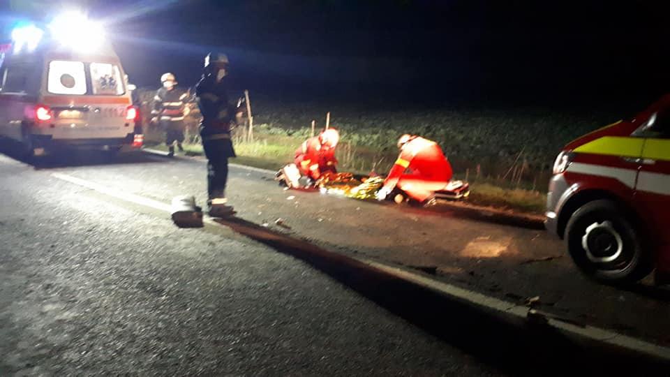 ACCIDENT TRAGIC! O persoană a MURIT pe loc, alte patru sunt GRAV RĂNITE (FOTO)