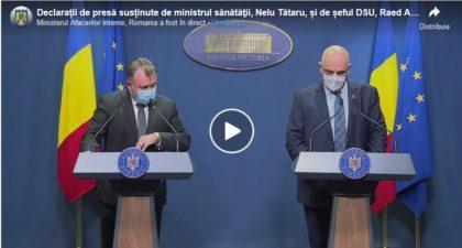 Revin RESTRICȚIILE! Măsuri în REGIM DE URGENȚĂ, pe fondul creșterii cazurilor de infectare cu CORONAVIRUS (VIDEO)