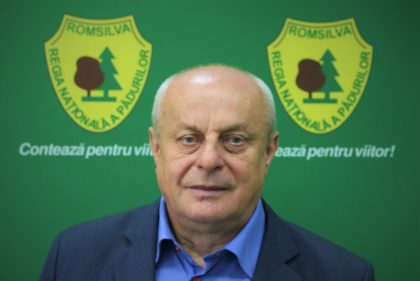 Teodor Țigan, director general al Romsilva până la sfârșitul anului viitor