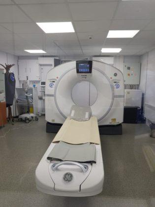 Computer tomograf de ultimă generaţie, pus în funcțiune la Spitalul Clinic Judeţean de Urgenţă Arad
