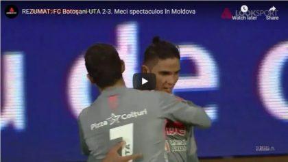 VICTORIE MARE la Botoșani! VIDEO: Rezumatul partidei, declarațiile antrenorilor