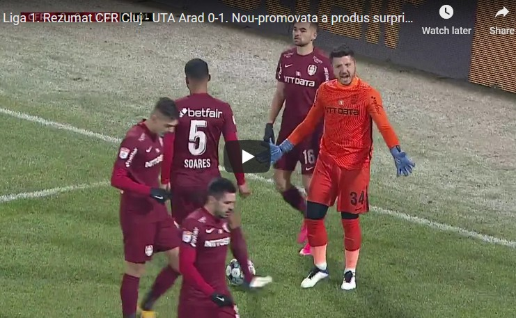 CFR – UTA: 0 – 1! Mutarea INSPIRATĂ a lui Balint și CURSA de NEOPRIT a lui Buhăcianu spre PLAY-OFF (VIDEO: Rezumat + declarații)
