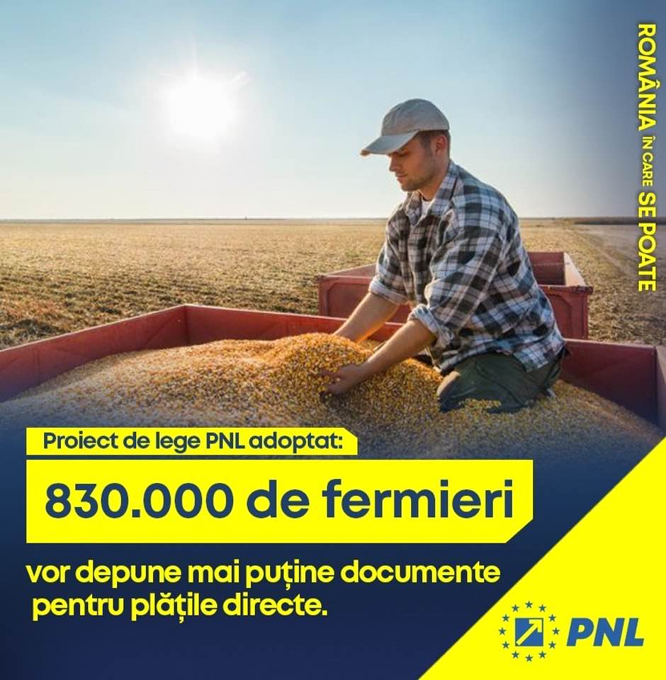 Guvernul PNL va face investiţii majore în agricultură, pentru a susține produsele româneşti şi sistemul de irigaţii