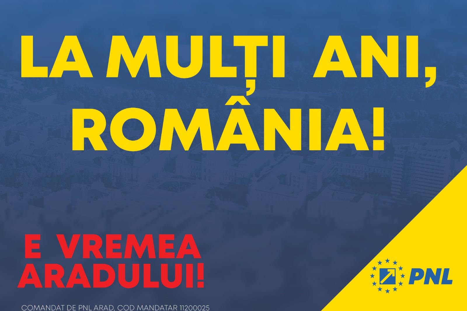 Mândri că suntem arădeni: liberalii au fost aici în cei peste 100 de ani de libertate ai României