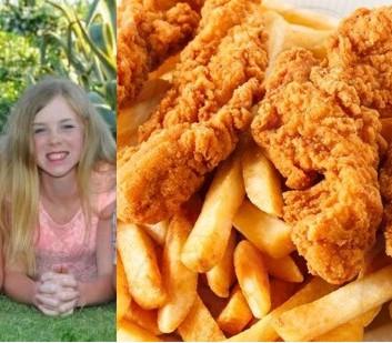 Să mai ziceți ceva! Cum arată acum adolescenta care a mâncat 15 ani numai aripioare și cartofi prăjiți (FOTO)