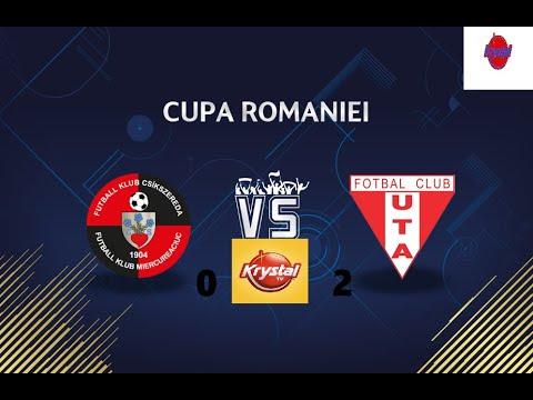 UTA a trecut de Csikszereda și e în optimile Cupei României după 14 ani (VIDEO)