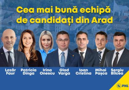 Ce alegem duminică, tineri sau experimentați? PNL vine cu cea mai bună echipă din Arad la parlamentare