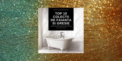 Glasspandoor prezintă TOP 10 cele mai vândute colecții de gresie și faianta in 2020