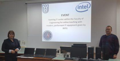 Centru de predare online la Facultatea de Inginerie din cadrul UAV Arad
