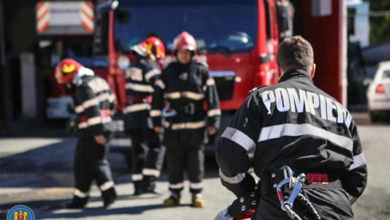 Pericol de EXPLOZIE în centrul Aradului. ISU intervine de urgență (FOTO)