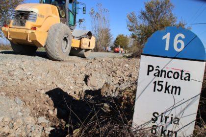 Peste 150 de kilometri de drumuri vor intra într-un amplu proces de reabilitare